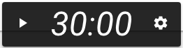 Presenter Clock